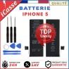 BATTERIE 100% NEUVE POUR IPHONE 5 Haute qualité - + OUTILS OFFERT