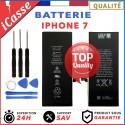BATTERIE INTERNE POUR IPHONE 7 NEUVE + OUTILS