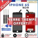 VITRE TACTILE + ECRAN LCD RETINA SUR CHASSIS POUR IPHONE 6S NOIR + OUTILS