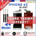 VITRE TACTILE + ECRAN LCD RETINA SUR CHASSIS POUR IPHONE 6S BLANC + OUTILS