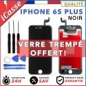 VITRE TACTILE + ECRAN LCD RETINA SUR CHASSIS POUR IPHONE 6S PLUS NOIR