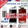VITRE TACTILE + ECRAN LCD RETINA SUR CHASSIS POUR IPHONE 6S PLUS BLANC