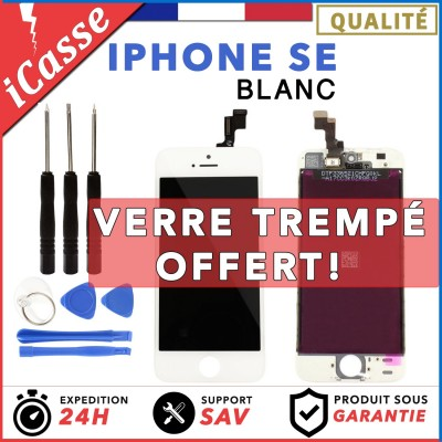 IPHONE SE LCD SCREEN COMPLETE - WHITE