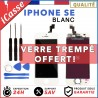 VITRE TACTILE + ECRAN LCD RETINA POUR IPHONE SE BLANC + OUTILS