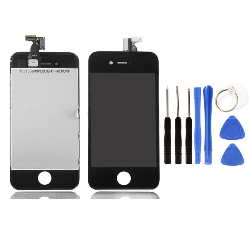 Vitre tactile ecran lcd retina sur chassis iphone 4 4s for Photo ecran iphone 4
