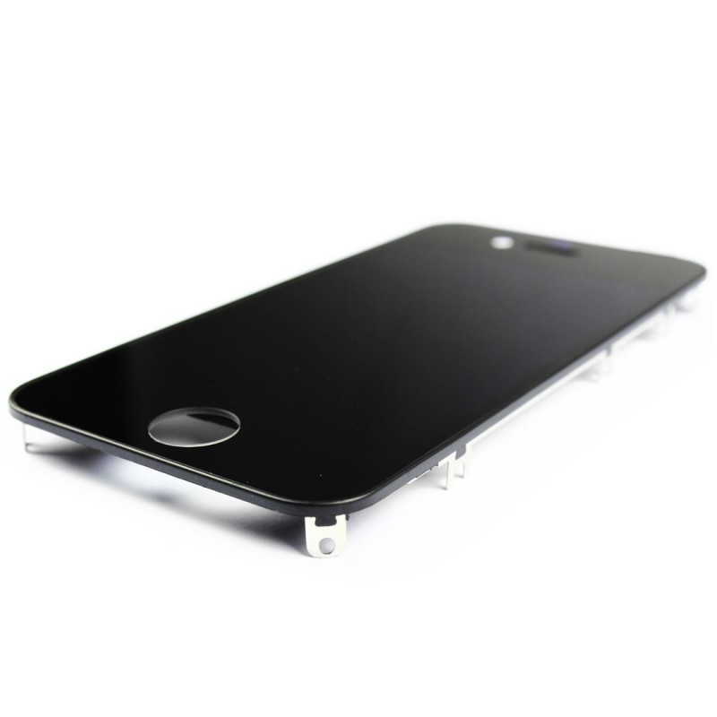Vitre tactile ecran lcd retina sur chassis iphone 4 noir for Ecran pc retina