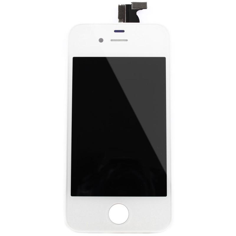 vitre tactile ecran lcd retina sur chassis iphone 4 noir outils icasse pi ces et outils. Black Bedroom Furniture Sets. Home Design Ideas
