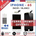 VITRE TACTILE + ECRAN LCD RETINA ASSEMBLÉ POUR IPHONE 6S NOIR ou BLANC