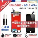 VITRE TACTILE + ECRAN LCD RETINA ASSEMBLÉ POUR IPHONE 6S / 6S PLUS NOIR ou BLANC