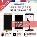 ECRAN COMPLET POUR HUAWEI P9 LITE 2017 VITRE TACTILE + ECRAN LCD NOIR BLANC OR