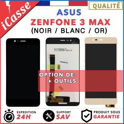 """ECRAN COMPLET POUR ASUS ZENFONE 3 MAX ZC520TL X008D 5.2"""" VITRE TACTILE + LCD"""