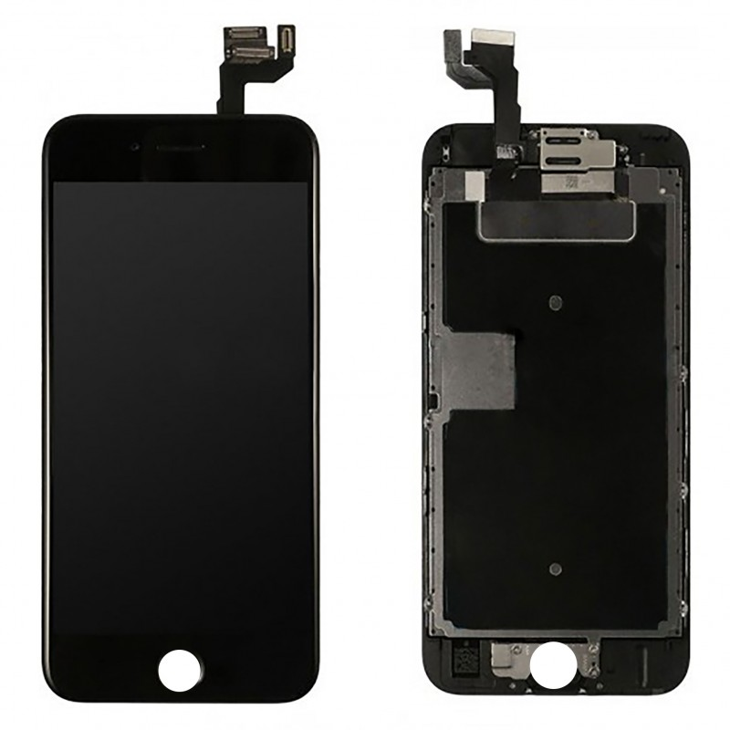 Vitre tactile ecran lcd retina tout assembl complet for Ecran photo iphone noir