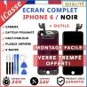 VITRE TACTILE + ECRAN LCD RETINA TOUT ASSEMBLÉ COMPLET POUR IPHONE 6 NOIR