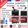 VITRE TACTILE + ECRAN LCD COMPLET IPHONE 6S BLANC + OUTILS