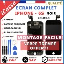 VITRE TACTILE + ECRAN LCD COMPLET IPHONE 6S NOIR + OUTILS