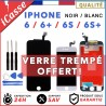 ECRAN LCD SUR CHASSIS + VITRE TACTILE IPHONE 6 / 6 PLUS, 6S / 6S PLUS AAA