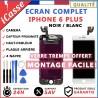 BLOC COMPLET TOUT ASSEMBLÉ VITRE TACTILE + ECRAN LCD IPHONE 6 PLUS NOIR / BLANC