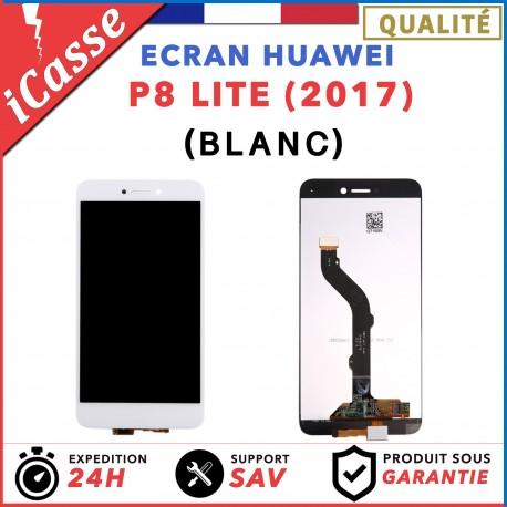 ECRAN COMPLET POUR HUAWEI P8 LITE 2017 VITRE TACTILE + ECRAN LCD BLANC