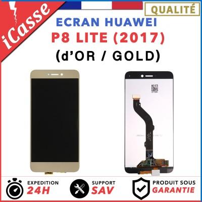ECRAN COMPLET POUR HUAWEI P8 LITE 2017 VITRE TACTILE + ECRAN LCD OR